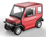 Vehículo de /Electric del coche eléctrico cerrado/del vehículo utilitario de 4 asientos por completo