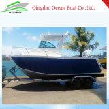 Sport-Fischen-Aluminiumboot21ft Cuddy-Kabine-Boot