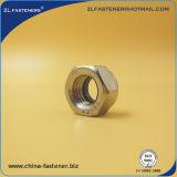 Écrou de blocage d'acier inoxydable/acier du carbone DIN985/DIN982nylon/noix de Nylock