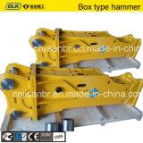 Briseur hydraulique en forme de boîte pour l'excavatrice de la tonne 30-40