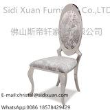 Горячее продавая венчание нержавеющей стали серебра стула банкета гостиницы типа случая обедая стул