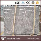 Laje de mármore cinzenta da pérola chinesa barata com própria pedreira