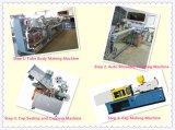 Automaticlly 120PCS/Min Sahne/Zahnpasta-lamellenförmig angeordnetes Gefäß, Zeile produzierend