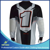 A motocicleta Jersey do motocross dos homens personalizados do Sublimation com projeta