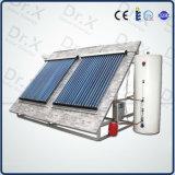 ヒートパイプのプールのための加圧太陽給湯装置