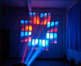 Copiar luz principal movente do diodo emissor de luz do pisco de peito vermelho 37p*10W 600 da veste