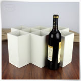 Самые новые несущие вина картона несущей вина PU кожаный