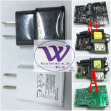 7100/Note2 2 Pin/Flat Pin 또는 Samsung Charger를 위한 Ameercia Pin Charger Use