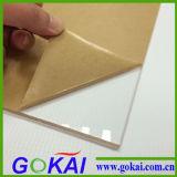 Hoja incombustible de acrílico del alto molde transparente
