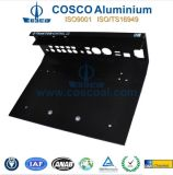 Faceplate di alluminio Panel per Electronics con ISO9001 & Ts16949 Certificated
