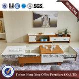 Самомоднейшая домашняя стойка TV таблицы MDF мебели 1.8m (HX-6M364)