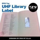 Estrangeiro passivo H3 da etiqueta da biblioteca do papel revestido da freqüência ultraelevada de RFID