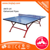 2016 대중 Wheels를 가진 Table Outdoor Folding Tennis Table를 핑 소리가 나십시오 Pong