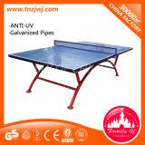 Mesa de ping-pong populaire table de tennis pliante en plein air avec roues
