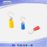 비닐에 의하여 격리되는 삽 연결관 단말기