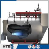 Chaudière horizontale de gas-oil de série de Wns avec le dos humide de trois passages