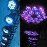 Indoor 18X18W RGBWA + UV DMX Stage Lighting LED PAR Lamp