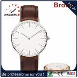 Prix usine, montre-bracelet véritable de mode de ceinture en cuir (DC-754)