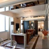Insieme della mobilia della camera da letto dell'hotel di stile di affari