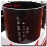Extremidade chanfrada API 5L GR. B Seamless Carbon Steel Pipe com Plastic Caps