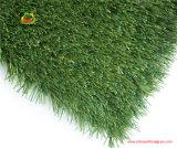Forma césped sintético para el campo de fútbol
