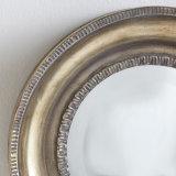고대 은 가정 장식을%s 완성되는 프레임 미러의 둘레에 나이 드는 Handmade