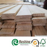 Modanatura innescato bianco di legno di pino di Radiata della giuntura della barretta