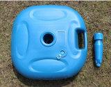 base plástica do carrinho de guarda-chuva 20kg com água Filled-Sy030