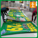 Bandera al por mayor del PVC, bandera del vinilo, haciendo publicidad de la bandera del PVC de la flexión (TJ-003)