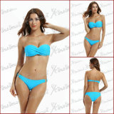 Bandeau Twist Swim Suits per Women
