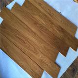 Plancher en bois multicouche de Chambre de poupées de chêne de couleur de teck d'enduit UV