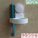 Prateleira do gancho do suporte do suporte do secador de cabelo dos acessórios do banheiro