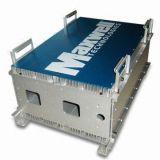 Protuberancia de aluminio modificada para requisitos particulares para el recinto del ranurador con trabajar a máquina del CNC