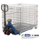 Faltender Stahlmaschendraht-Rahmen für Lager-Speicher