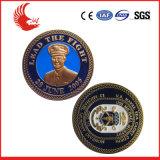 Монетка выдвиженческого дешевого оптового изготовленный на заказ металла вероисповедная