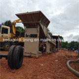 crivello a tamburo di lavaggio alluvionale di Procossing dell'oro 50-300t/H