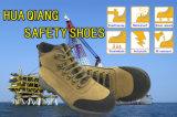 Nuevo Diseño Zapatos superiores de la capa de piel nobuk de seguridad Zapatos al aire libre (HQ09003)