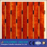 Панель MDF деревянного тимберса звукоизоляционная пожаробезопасная акустическая