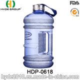 2016 нов подгонянных пластичных кувшинов воды 2.2L, большая бутылка воды PETG пластичная (HDP-0618)