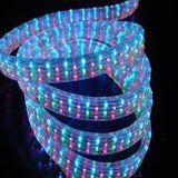 Cuerda plana de 5 alambres LED roja clara
