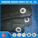 Sonnenschutz-Ineinander greifen-Patio-Deckel mit Knopfloch-geschütztem Kabinendach-Schwarz-UVnetz
