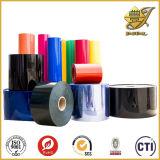 Roulis pharmaceutique transparent coloré de PVC