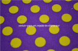 Il bianco punteggia il tessuto del sofà del sacchetto di fagiolo della tela di canapa del cotone della poltrona del sacchetto di fagiolo