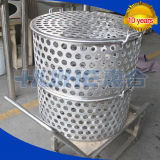 Potenciômetro de cozimento vertical do aço inoxidável para o alimento