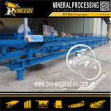 Dt Curved Plano Transportando equipamento fixo Correia Transportadora Mining