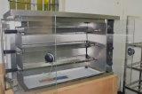 Huhnrotisserie-Maschine des Gas-3-Rod für Verkauf