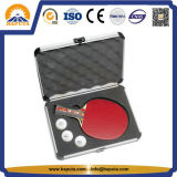泡(HC-3001)が付いている個人化されたアルミニウム卓球の箱