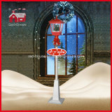 Snowflakes와 Music를 가진 Christmas를 위한 옥외 Decorative Streetlamp