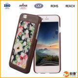 Het kwaliteit Gewaarborgde Mobiele Geval van het Leer van de Telefoon voor iPhone 6