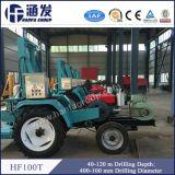 水のためのHf100t 40-120mのトラクターによって取付けられる掘削装置